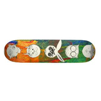 Animals II 20 Cm Skateboard Deck