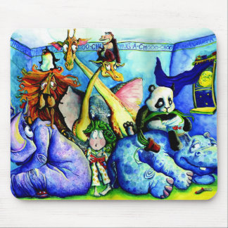 animals in the bedroom mouse mat