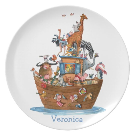Animals Noah's Ark -  Plate
