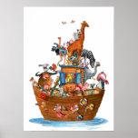 Animals Noah's Ark - Poster