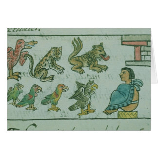 Animals of the Aztec Emperor Card