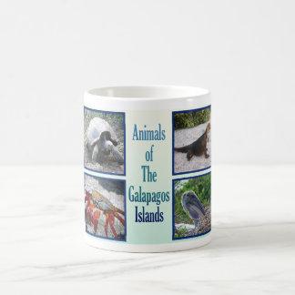 Animals of the Galapagos Islands Basic White Mug