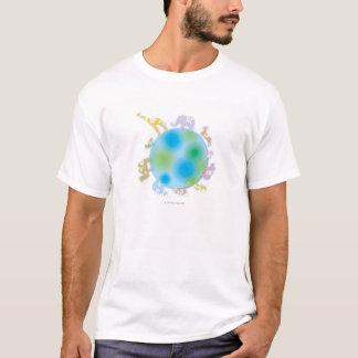 Animals on Globe T-Shirt