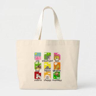 Animals on Parade Tshirts and Gifts Tote Bag