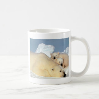 animals-polar-bear coffee mug