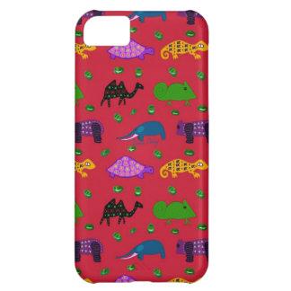 Animals - Purple Turtles & Blue Elephants iPhone 5C Case