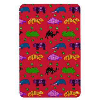 Animals - Purple Turtles & Blue Elephants Vinyl Magnets