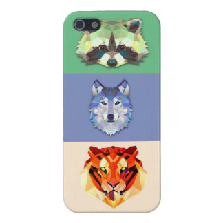 Animals raccoon wolf tiger iPhone 5 covers