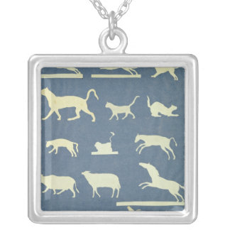 Animals Silver Plated Necklace