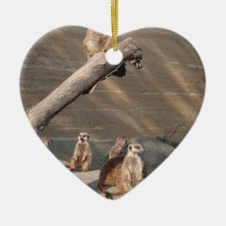 Animals  Wild  Mammals Meerkat Ornaments
