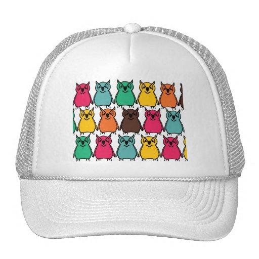 Animals Wild  Owl Birds  Happy & Colorful Nature Hat