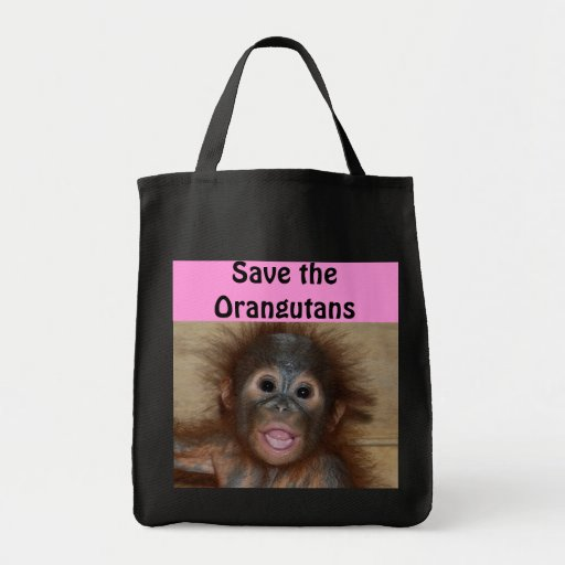 Animals Wildlife Baby Canvas Bag