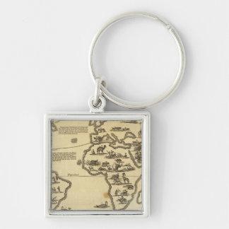 Animals World Key Ring