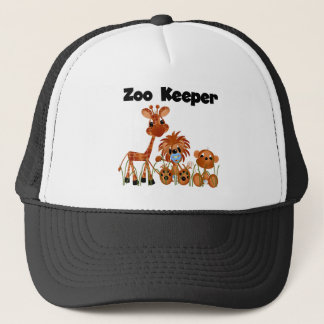 Animals Zoo Keeper Tshirts and Gifts Trucker Hat