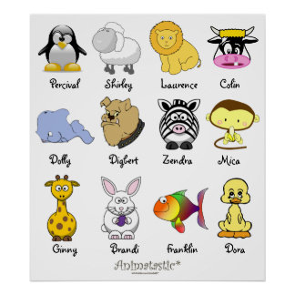 Animatastic Animal Mix Poster 2