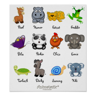 Animatastic Animals Mix Poster 4