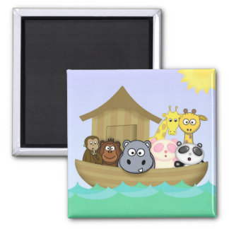 Animatastic Noah's Ark  Bible Story Illustration Magnet