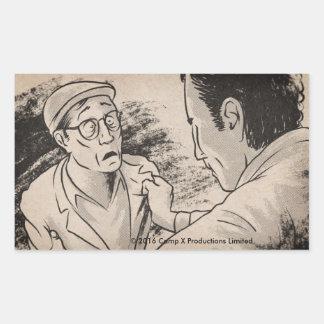 "Animated ""August 19th"" Rectangular Sticker"