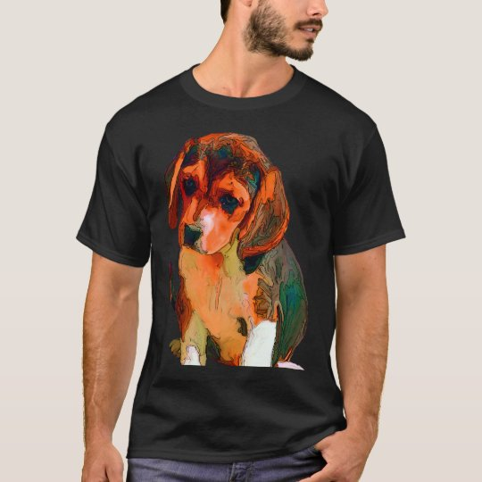 Animated Beagle Puppy T-Shirt