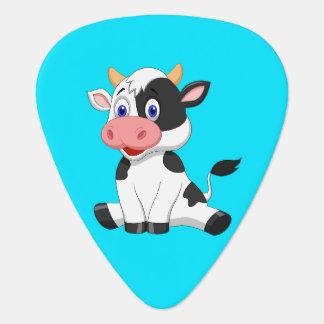 Animated cow plectrum