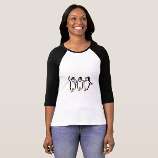 Animated Dancing Peguins T-Shirt