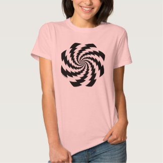 Animated Flower Ladies T-Shirt