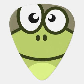 Animated Frog Guitar Pick