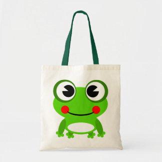 Animated Frog Tote Bag