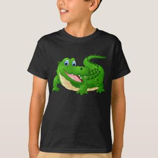 Animated Happy Crocodile Tshirt