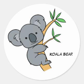 Animated Koala Bear Sticker