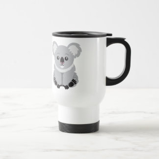 Animated Koala Bear Travel Mug