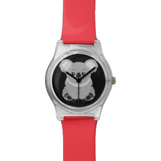 Animated Koala Bear Wristwatches