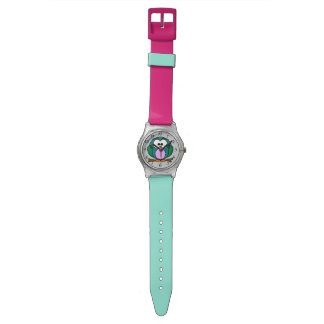 Animated Owl Wristwatch
