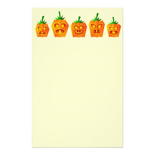 Animated Pumpkins Flyer Design