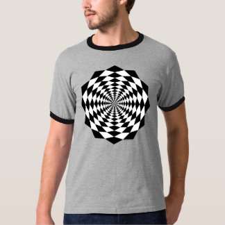 Animated Space Classic Ringer T-Shirt