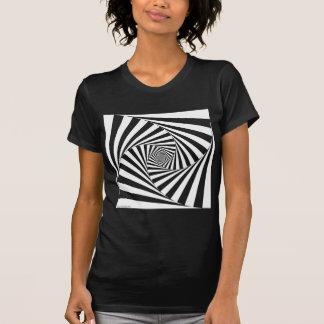 Animated Square Ladies Basic T-Shirt