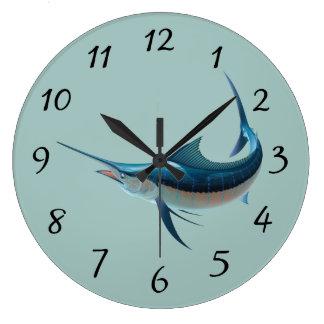 Animated Swordfish Clocks