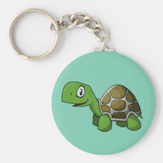 Animated Turtle Keychain
