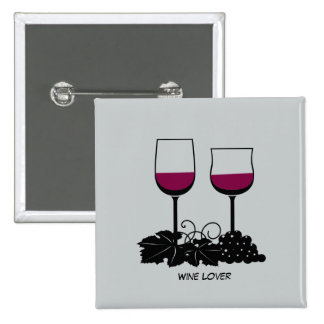 Animated Wine glasses button