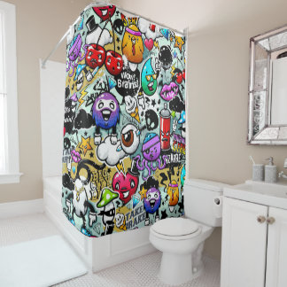 Animation Shower Curtain