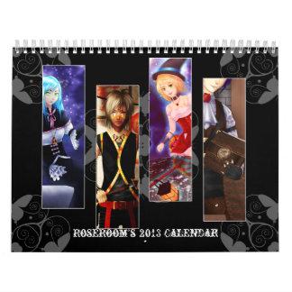 Anime 2013 wall calendar