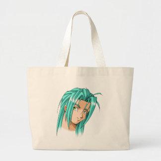 Anime and Manga Faces Jumbo Tote Bag