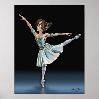 Anime Ballerina Poster