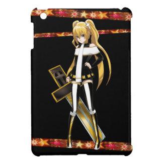 Anime Beauty of The Cross - On Black iPad Mini Cases