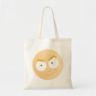 Anime Boy Face - Budget Tote Tote Bags