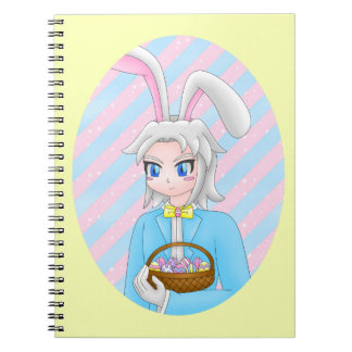 anime bunny notebook