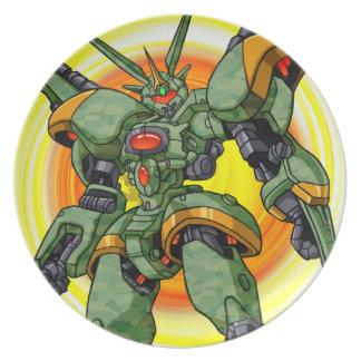 Anime Camo Robot Plate