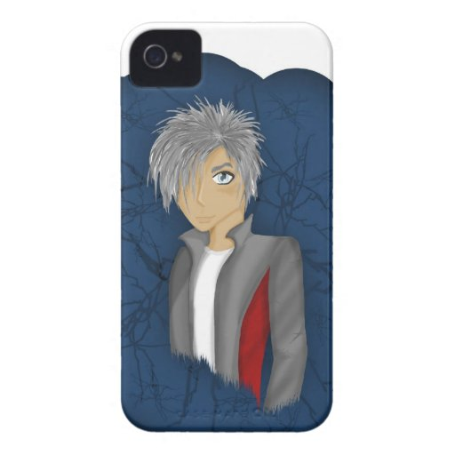 Anime Character - Flynn iPhone 4 Case-Mate Case