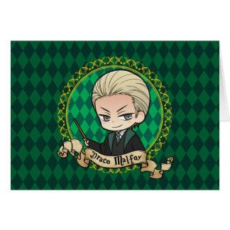 Anime Draco Malfoy Card
