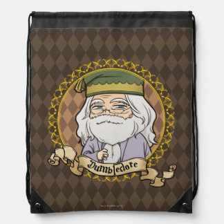 Anime Dumbledore Drawstring Bag